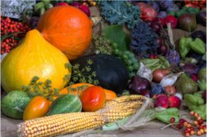 Composition de légumes divers
